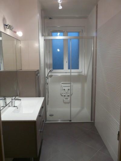 Résultat modifications salle de bain